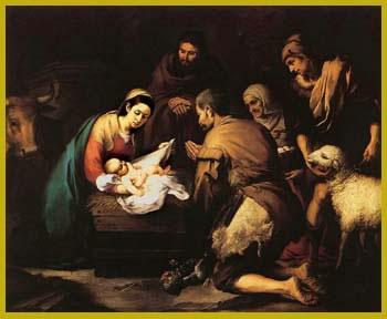 Murillo - La Adoración de los Pastores